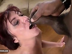Black Monster cocks for beautiful milfs get fucked anal and pussy cumshot