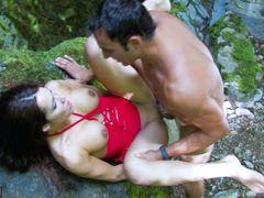 Shannya Tweeks & Jorge in Indiana Jorge, Saving An Arab Slut And Fucking Her By The River - MMM100