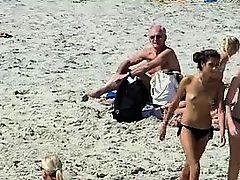 Beach Voyeur Topless Sexy Beach Girls Spycam Hd Video