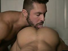 Latin gay anal sex with cumshot