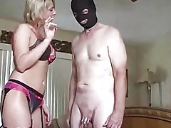 Wife Humiliate His Cuckold Husband