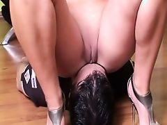 Mistresses facesitting their slave