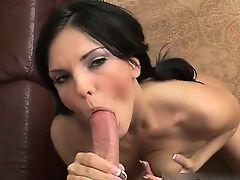 Amazing hot and sexy brunette slut part2