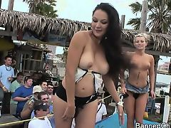 Party girls with no limits in this amateur footage