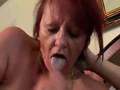 red hair mature got it in the ass