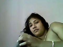 desi indian bhabhi talking while keeping dick in mouth