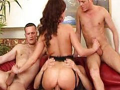 Krystal De Boor - French HouseWife Gangbanged