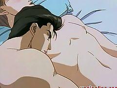 Two hentai gays having shower sensation