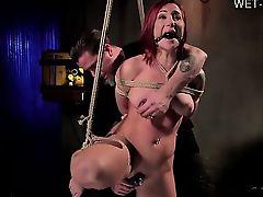 Cute girl hard anal pounding