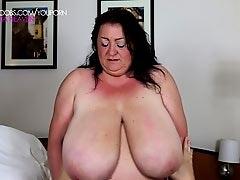 Massive breasts touched - Sabrina Meloni 2015