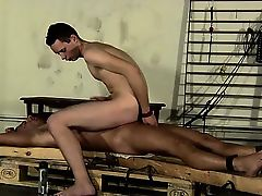 Gay jocks The final insult of another guys jizz dumped on hi