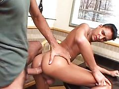 taking cocking up in the ass