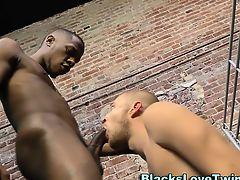 Black amateur in prison