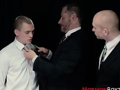 Mormons anally punished