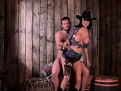 BDSM of fetching babe enjoying all fetish things