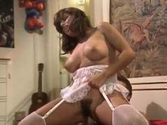 Incredible latin classic scene with Dallas Houston and Vanessa D'Oro