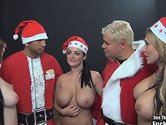 Sophie Dee Big Tit Christmas Fuck a Fan