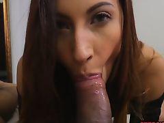 Jade Jantzen makes bro dick disappear